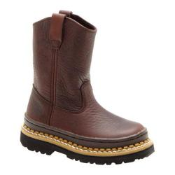 Children's Georgia Boot G20 Little Georgia Giant Wellington Soggy Brown Leather