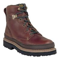 Women's Georgia Boot G33 6in Safety Toe B Soggy Brown Full Grain Leather