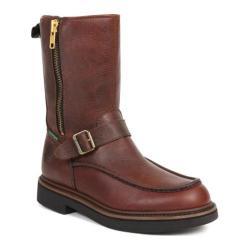 Men's Georgia Boot G41 Waterproof Side Zip Moc Toe Wellington Copper Kettle Soggy Leather