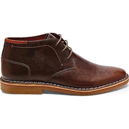 c65a0f4e2bf Men's Steve Madden Hestonn Dark Brown Leather | Overstock.com Shopping -  The Best Deals on Boots