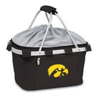 Picnic Time Metro Basket Iowa Hawkeyes Embroidered Black