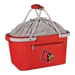 Picnic Time Metro Basket Louisville Cardinals Print Red