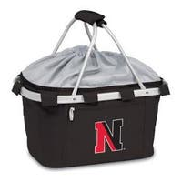 Picnic Time Metro Basket Northeastern University Huskies Emb Black
