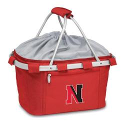 Picnic Time Metro Basket Northeastern University Huskies Emb Red