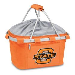 Picnic Time Metro Basket Oklahoma State Cowboys Print Orange