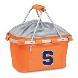 Picnic Time Metro Basket Syracuse Orange Embroidered Orange