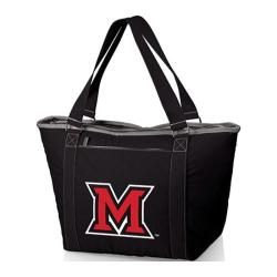 Picnic Time Topanga Miami University Red Hawks Embroidered Black