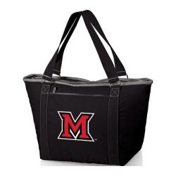 Picnic Time Topanga Miami University Red Hawks Print Black