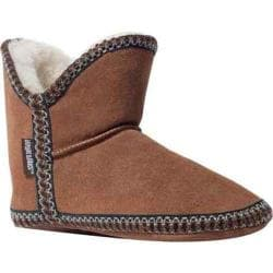 Women's MUK LUKS Suede Amira Light Brown