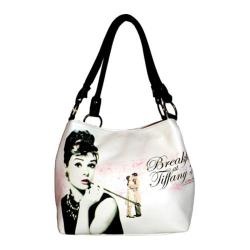 Women's Audrey Breakfast at Tiffany's Handbag AH813 Black