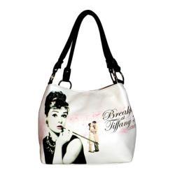 Women's Audrey Breakfast at Tiffany's Handbag AH813 Black