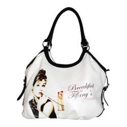 Women's Audrey Breakfast at Tiffany's Handbag AH815 Black