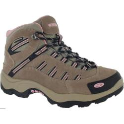 Women's Hi-Tec Bandera Mid Waterproof Taupe/Blush
