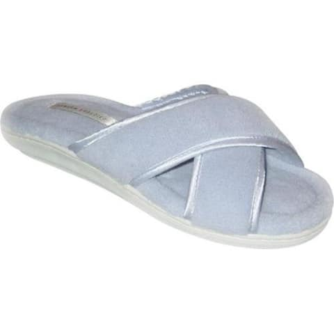 Women's Tender Tootsies Sharon (2 Pairs) Light Blue