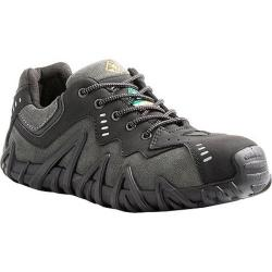 Men's Terra Spider Black/Charcoal Full Grain Leather/Premium Suede