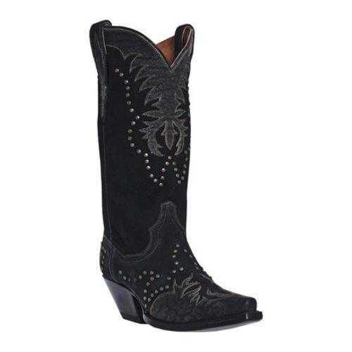 Women's Dan Post Boots Invy DP3582 Black Leather