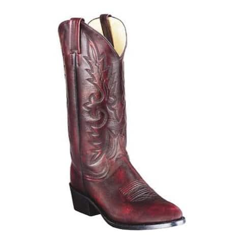 Dan Post Men's Boots Mignon R Toe Black Cherry