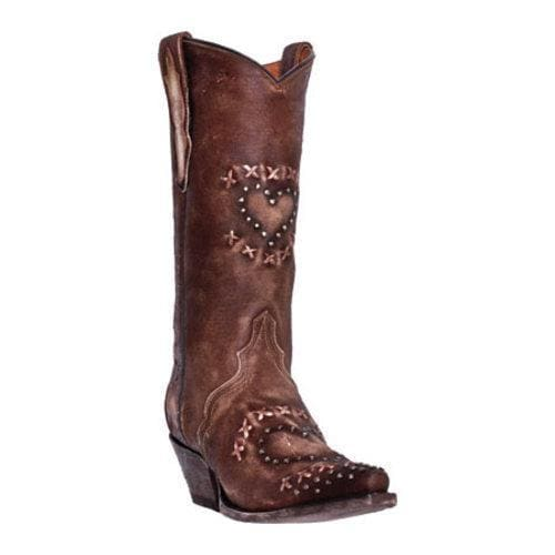 Dan Post Womens Chocolate Boots Shabby Chic