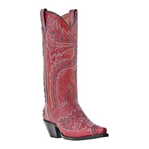 Women's Dan Post Boots Sidewinder DP3455 Lipstick Volcano Mad Cat Leather