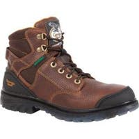Men's Georgia Boot G086 6in Zero Drag WP Steel Toe Brown Leather