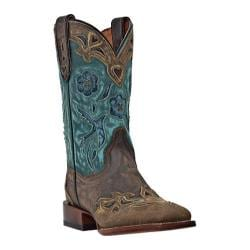 Women's Dan Post Boots CC Bluebird DP2914 Copper Sanded Leather - Thumbnail 0
