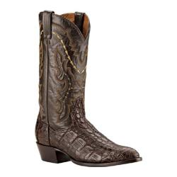 Men's Dan Post Boots Genuine Flank Caiman Chocolate