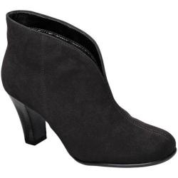 A2 by Aerosoles Women's Gold Role Booties Black