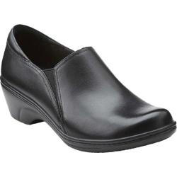 Women's Clarks Grasp Chime Black Leather