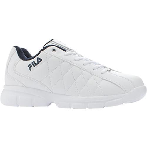 Men's Fila Fulcrum 3 White/White/Fila Navy