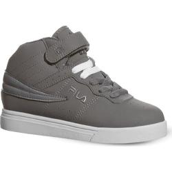 Children's Fila Vulc 13 Pewter/Metallic Silver/White