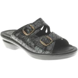 Women's Flexus by Spring Step Footstep Black Croco Suede (More options available)
