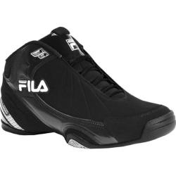 Men's Fila DLS Slam 1SB054FX Black/White/Metallic Silver