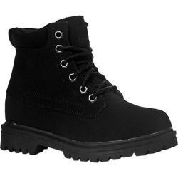 Boys' Fila Edgewater 12 Black/Black Filabuck