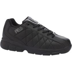 Men's Fila Fulcrum 3 Black/Black/Metallic Silver