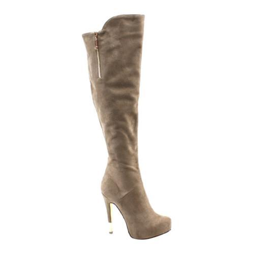 Women's Luichiny High Rise Taupe Imi Suede