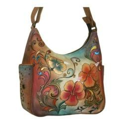 Women's Anuschka Hobo/Side Pockets Henna Floral