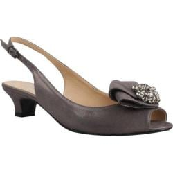 Women's J. Renee Jadan Dark Taupe Glimmer Satin