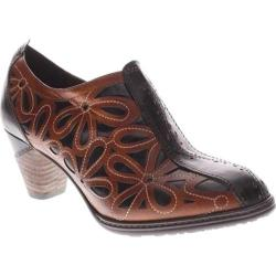 Women's L'Artiste by Spring Step Arabella Black/Camel Leather
