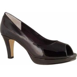 Women's Rose Petals by Walking Cradles Prom Black Patent Leather