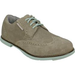 Women's TRUE Linkswear TRUE Dame Dark Tan/Mint Suede