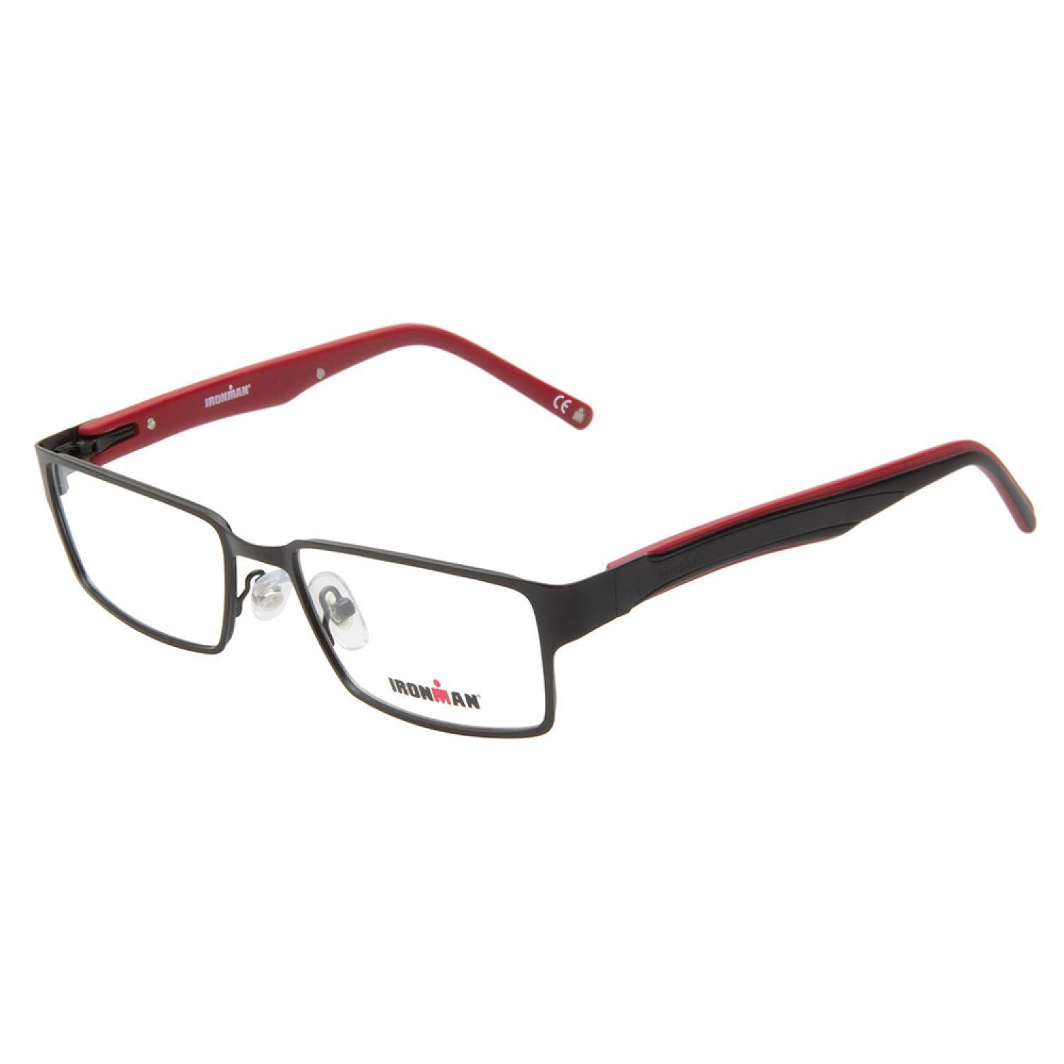 9a7185a0b9 Shop Ironman 104 Black Prescription Eyeglasses - Free Shipping Today ...