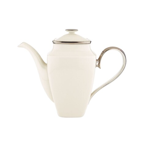 Lenox Solitaire 58-ounces Square Coffee Pot