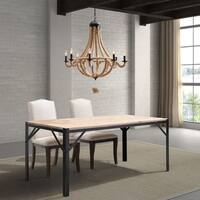 'Celestine' Twined Rope 8-light Chandelier Ceiling Lamp