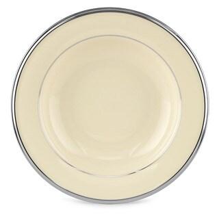 Lenox Solitaire 9-inch Pasta/ Rim Soup Bowl