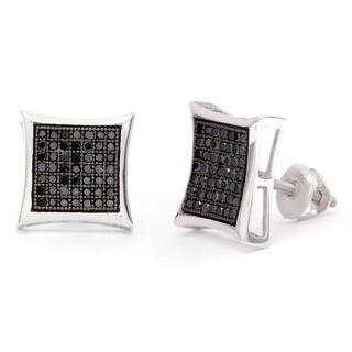 Sterling Silver 1/2ct Black Diamond Stud Earrings|https://ak1.ostkcdn.com/images/products/8500075/Sterling-Silver-1-2ct-Black-Diamond-Stud-Earrings-P15785668.jpg?impolicy=medium