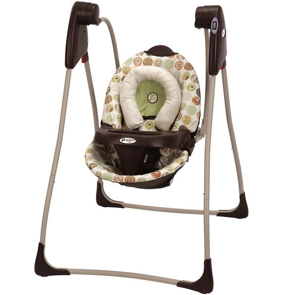 Graco Century Compact Swing In Jungle Boogie Free