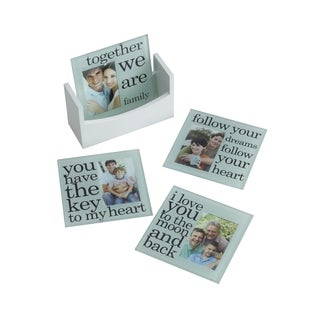 Melancco Sentiment Coasters Set of 4