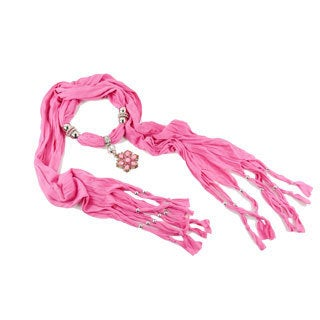 Brooch Style Drop Pendant Fashion Jewelry Scarf