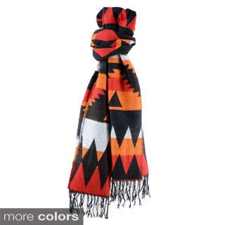 Large Native Colorful Tapestry Scarf