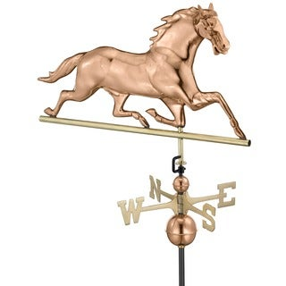 Horse Weathervane Pure Copper by Good Directions